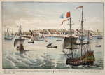 New Amsterdam a small City en Manhatten Island, New-Holland, North America now called New-York …