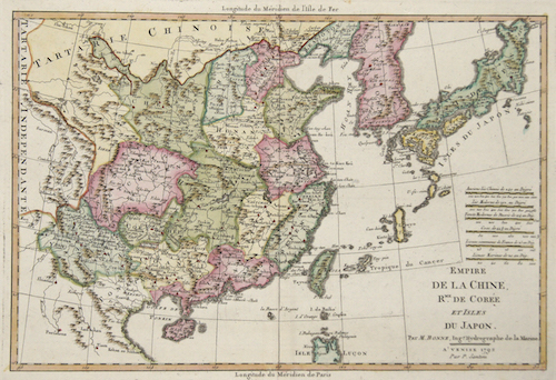 Empire de la Chine, erm.de Corée et Isles du Japon