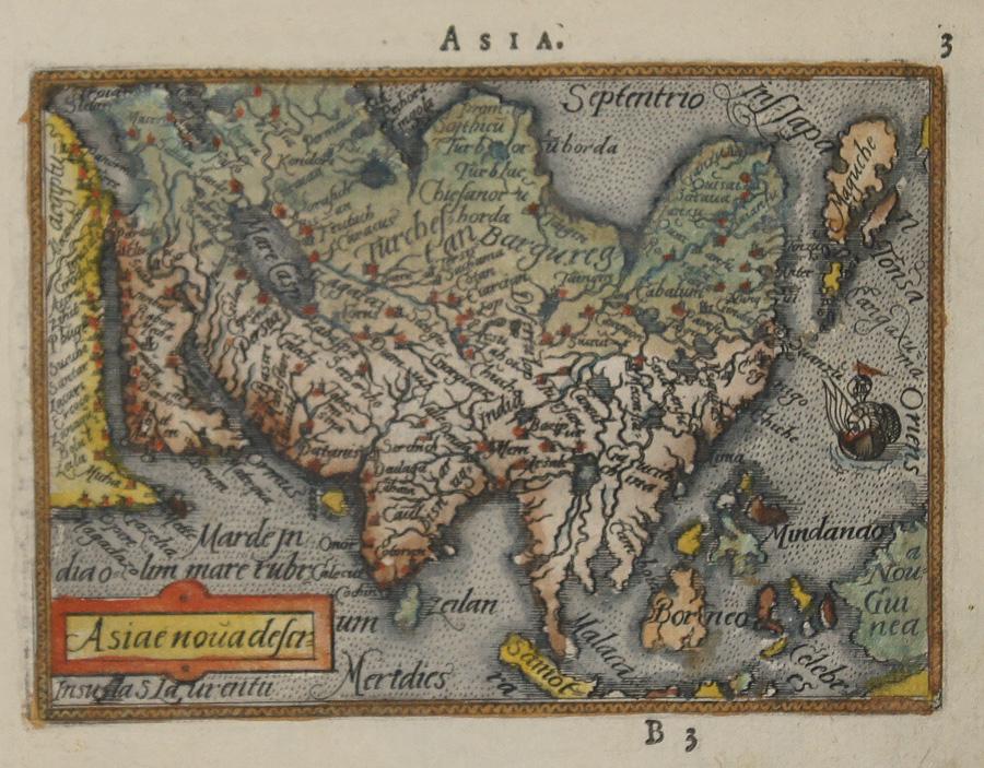 Asia / Asiae nova descr