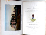 Golf by Horace G. Hutchinson