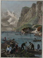 American scetches: Shad – fishing on the Hudson