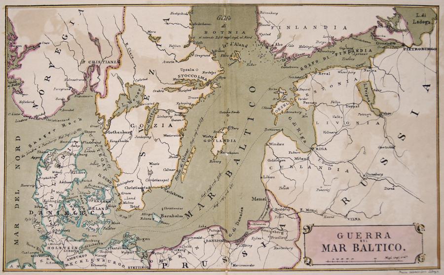 Guerra nel Mar Baltico.