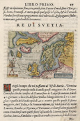 Re di Svetia. / Septentrionalium Regionum descriptio