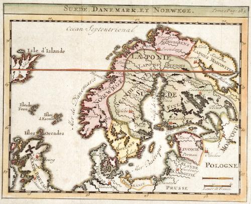 Chatelain Henri Abraham Suede, Danemark, et Norwege