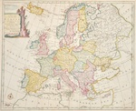 A new and accurate map of Europe. Collected from the best Authorities,..