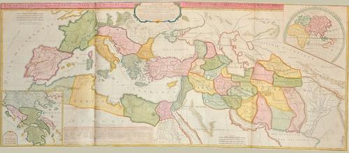 Partie Occidentale de la Carte des Anciennes Monarchies. / Partie Orientale de la Carte des Anciennes Monarchies.