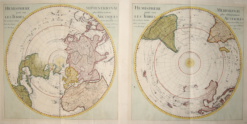 Hemisphere Septenrional & Hemisphere Meridional