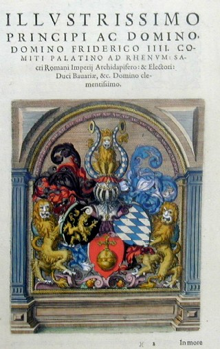 Anonymus Illustrissimo Principi ac domino, domino Friderico IIII. Comiti Palatino ad Rhenum