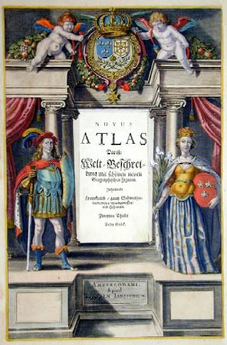 Janssonius Johann Novus Atlas das ist : Welt- Beschreibung mit schönen neuen Geographischen Figuren inhaltende Frankr./ganz Schweiz/dessen Bundgenossen und Hispanien