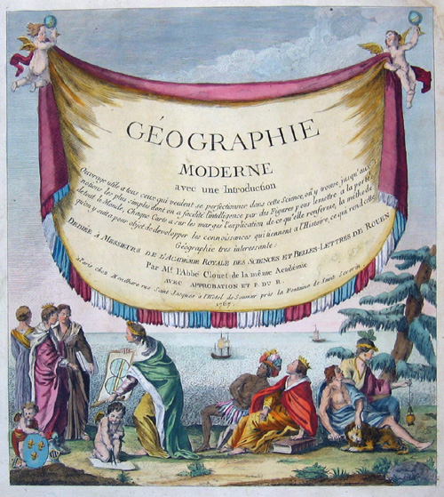 Anonymus Geographie moderne avec une Introduction……