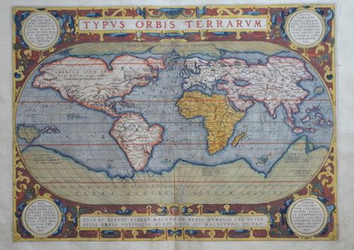 Ortelius Abraham Typus Orbis Terrarum