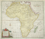 Africa, agreeable to the most approved Maps and Charts, By Mr. Kitchen.