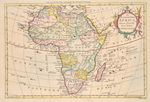 An Accurate Map of Africa. Drawn from the Sieur Robert with Improvements.