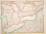North America sheet III upper Canada with parts of New York, Pensyvannia and Mitchigan