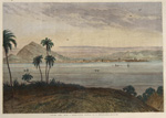 Panama Port, from a water-colour drawing by E. Hildebrandt.