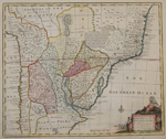 A new and accurate map of Paraguay, Rio de la Plata, Tucumania Guaria & c.