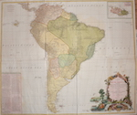 A Map of South America Containing Tierra-Firma, Guayana, New Granada, Amazonia, Brasil, Peru, Paraguay, Chaco, Tucuman, Chili and Patagonia.