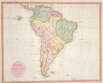 A general map of South America from the Best Surveys