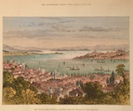 View from Constantinople, showing princes island in the distance