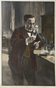 "M. Louis Pasteur in his Laboratory. </div>"">   </a>   <br><font size="