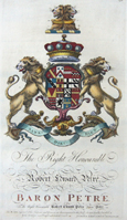 The right honourable Robert Edward Petre Baron Petre……..