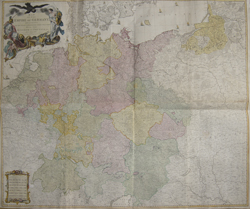 Map of the Empire of Germany, including all the States comprehended under that Name with the Kingdom of Prussia, & c.