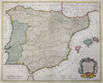A Map of the Kingdoms of Spain and Portugal…