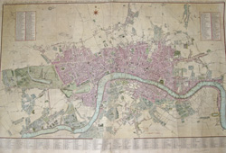 Cary's New and Accurate Plan of London and Westminster, the Borough of Southwark and parts adjacent,…