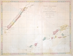 Chart of Discoveries made in the South Pacific Ocean in his Majesty's ship resolution Under the Command of Captain Cook. 1774.